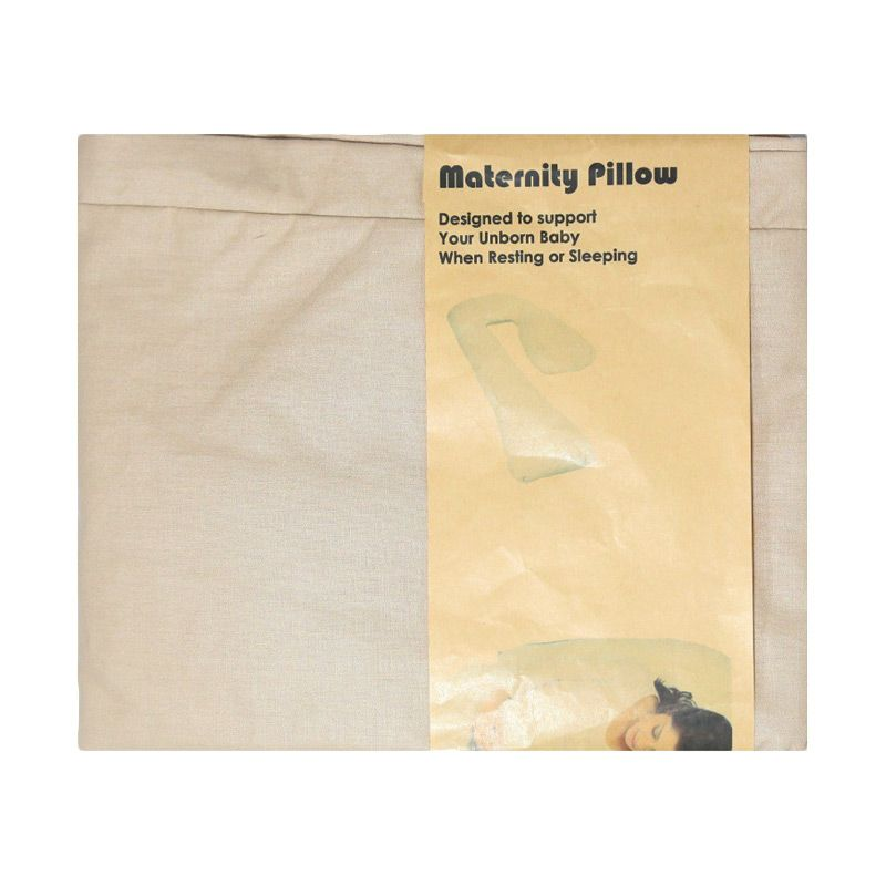 Garyman Maternity Pillow Seven Case Brown Sarung Bantal