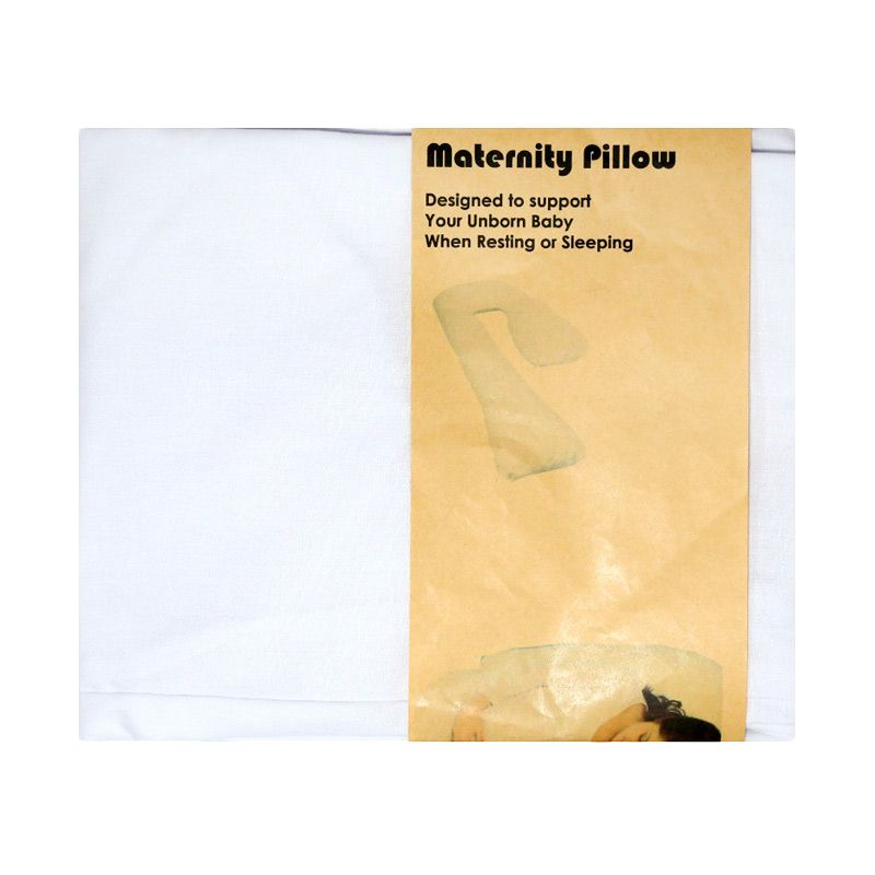 Garyman Maternity Pillow Seven Case White Sarung Bantal