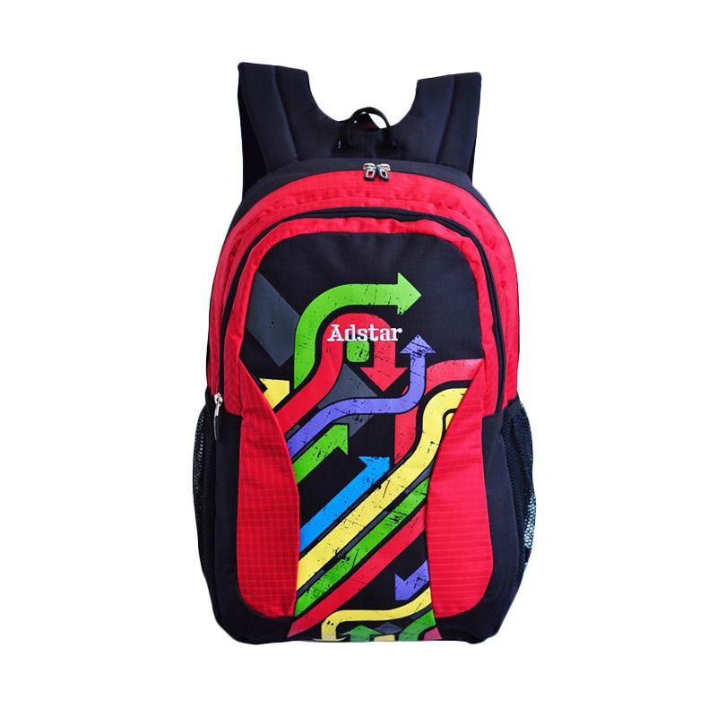 Adstar Adonis Red Backpack Tas Ransel