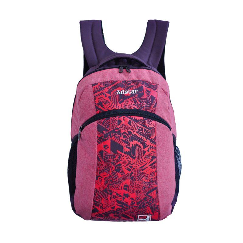 Adstar Ampath Pink Backpack Tas Ransel Pria