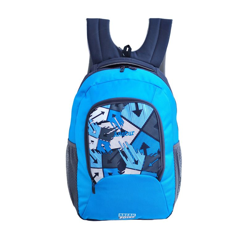 Adstar Break Point Blue Backpack Tas Ransel Pria
