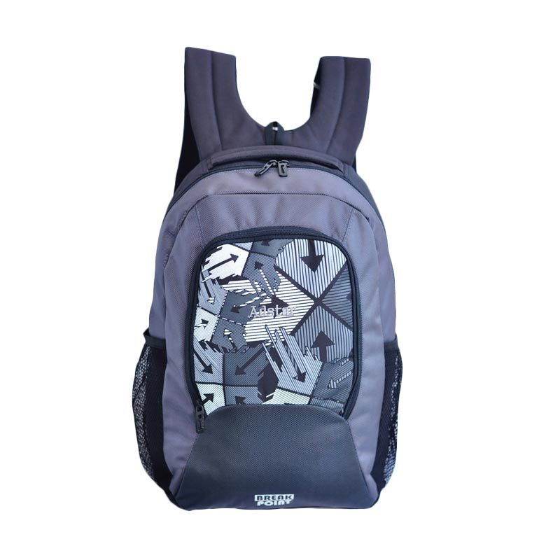 Adstar Break Point Grey Backpack Tas Ransel Pria
