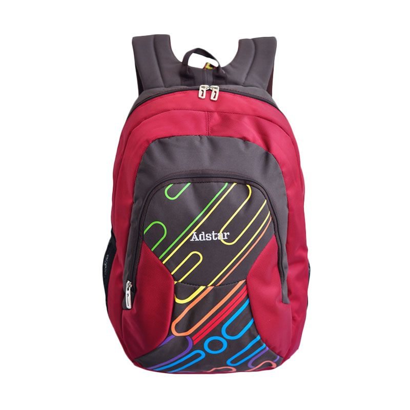 Adstar Backpack Ravo Red Tas Ransel