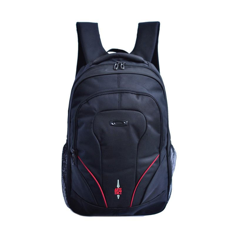 Fought Ampower Hitam Red Tas Ransel
