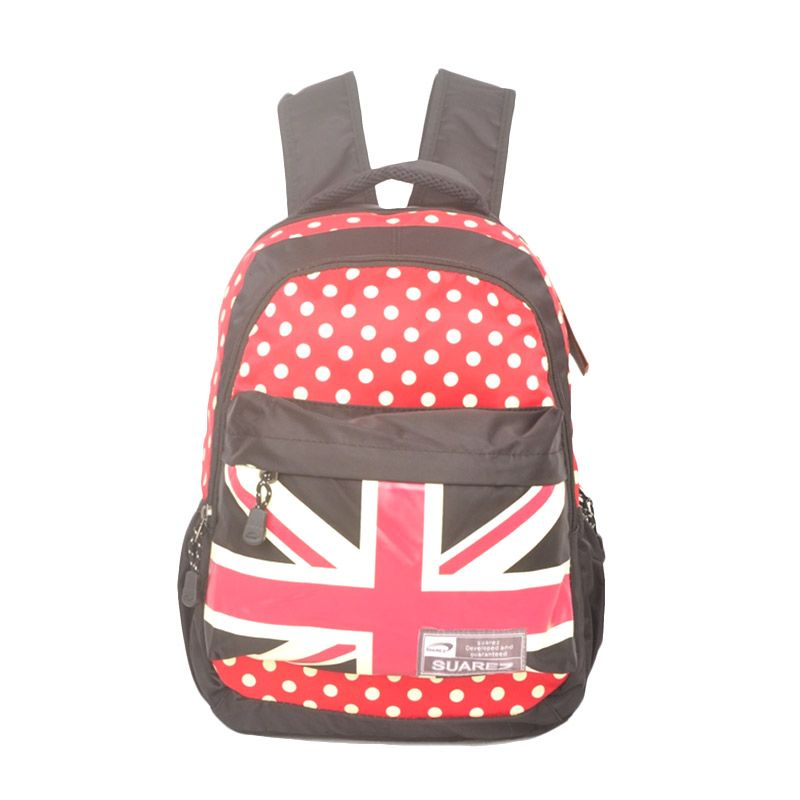 Young Soul London Dagna Black Backpack Tas Ransel
