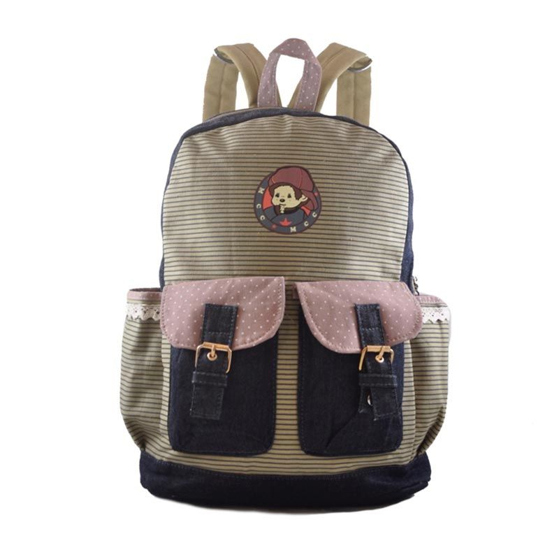 Young Soul Alcina Brown Tas Ransel