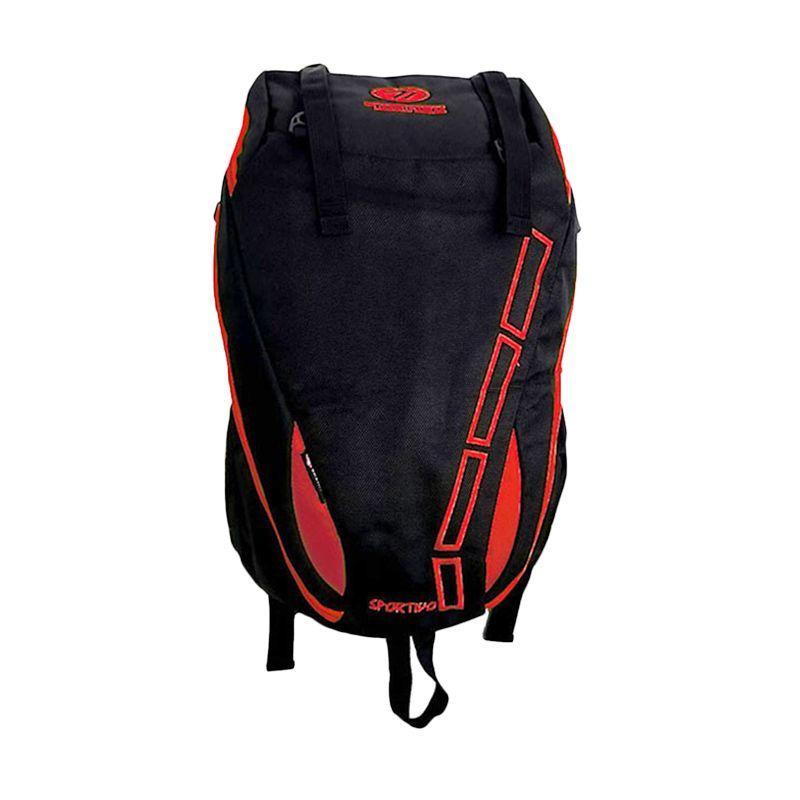 Mount Trainer Merah Tas Ransel + Raincover