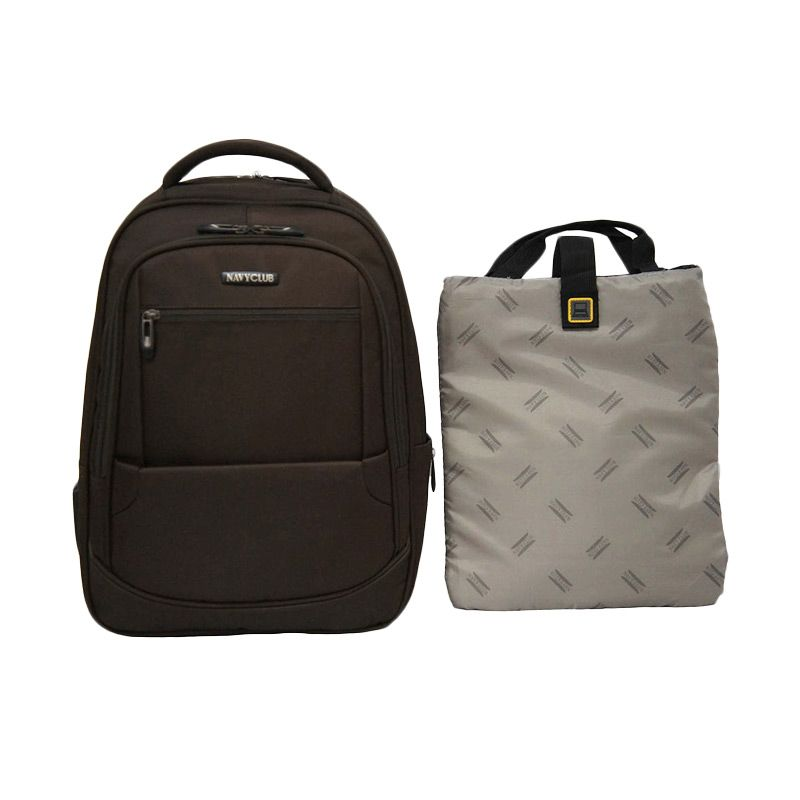 Navy Club 5821 Coffee Tas Ransel + Case