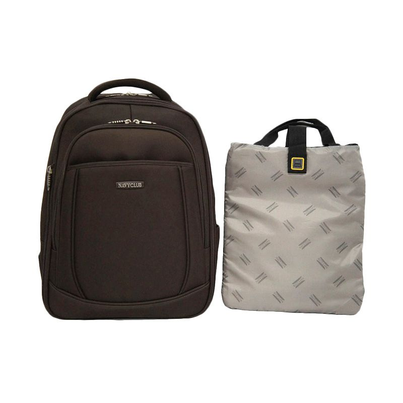 Navy Club 5858 Coffee Tas Ransel + Case