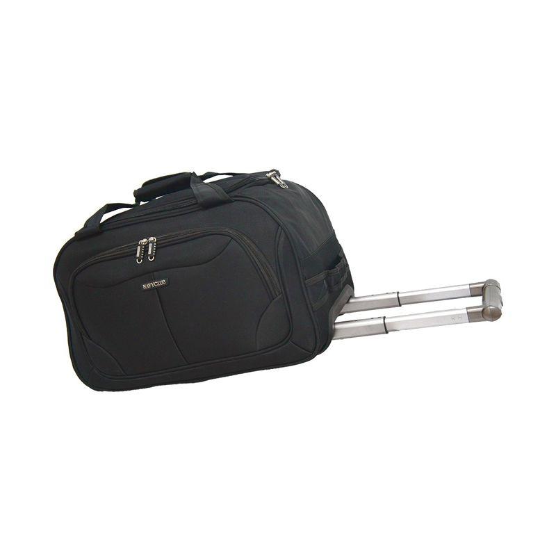 Navy Club 7047/20 Hitam Cabin Trolley Travel Bag
