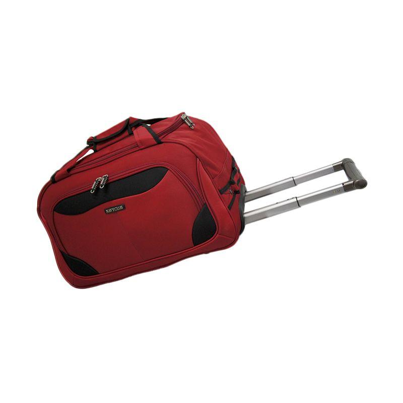 Navy Club Cabin Trolley 7047/24 Merah Travel Bag