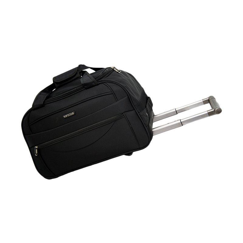 Navy Club Cabin Trolley 7048/24 Hitam Travel Bag