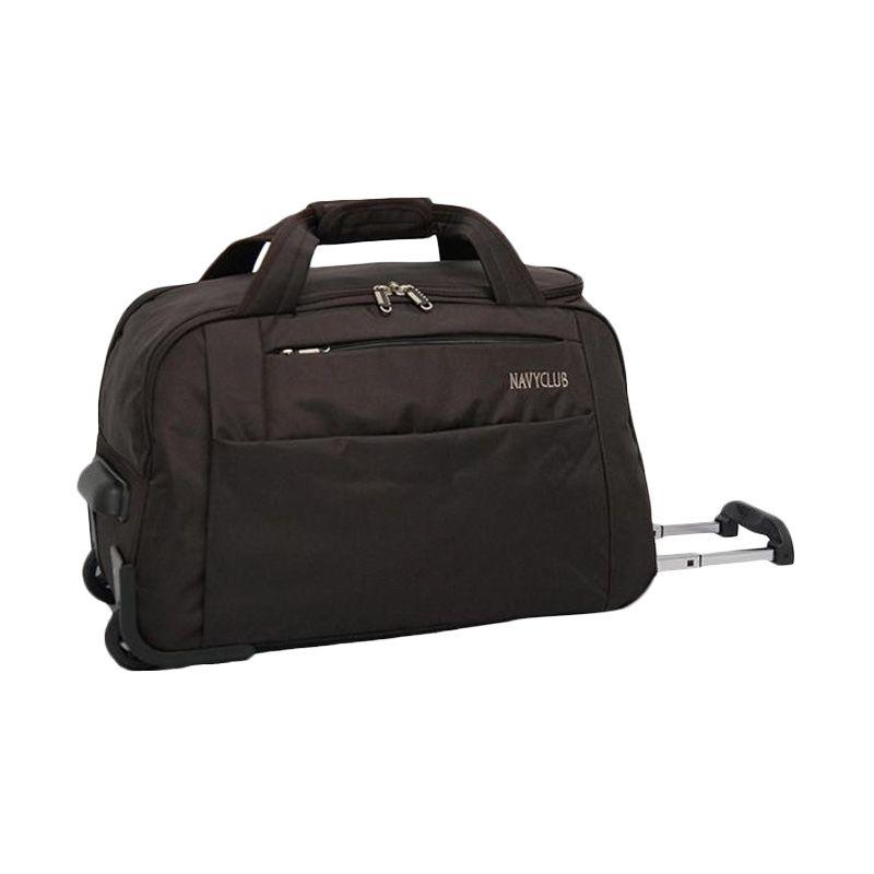 Navy Club Trolley 2037 Coklat Travel Bag