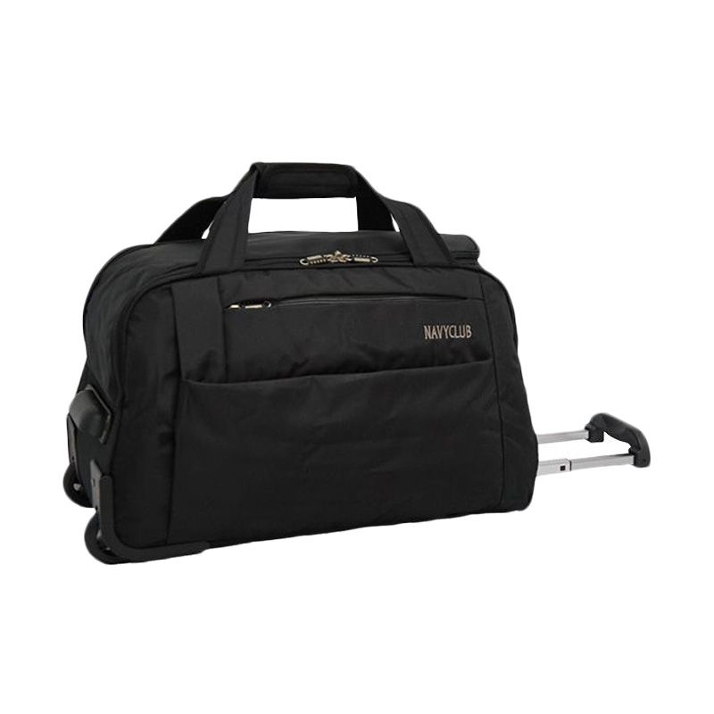Navy Club Trolley 2037 Hitam Travel Bag