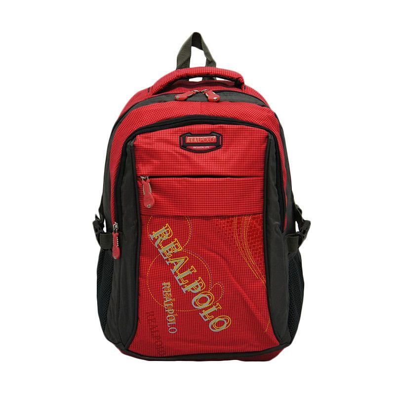 Real Polo 6310 Merah Tas Ransel