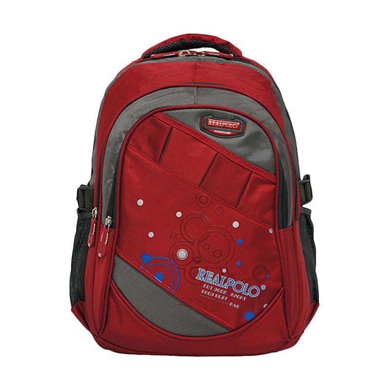 Real Polo 6320 Merah Tas Ransel