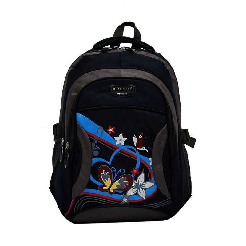 Real Polo 6321 Biru Tua Backpack Tas Ransel