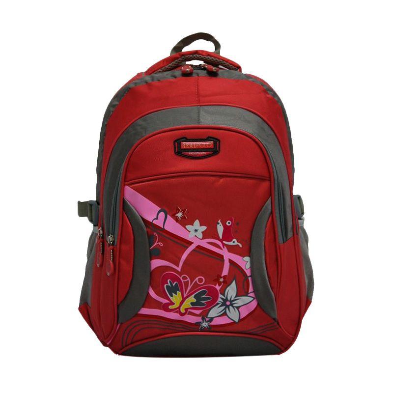 Jual Real Polo 6321 Pink Backpack Tas Ransel Online