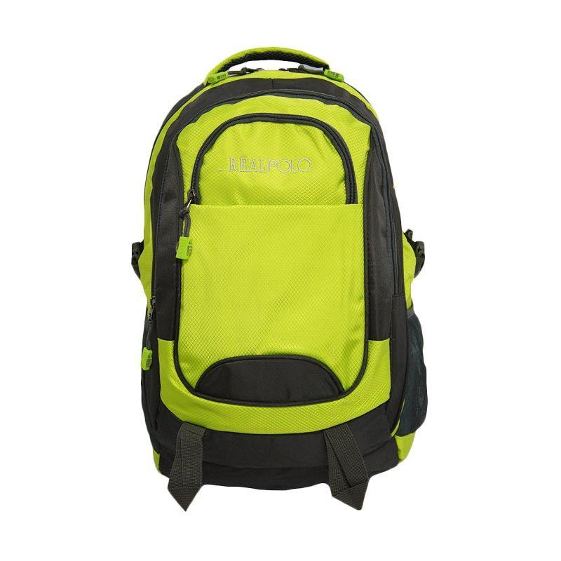 Real Polo Jumbo 6282 Hijau Tas Ransel [with Bag Cover]