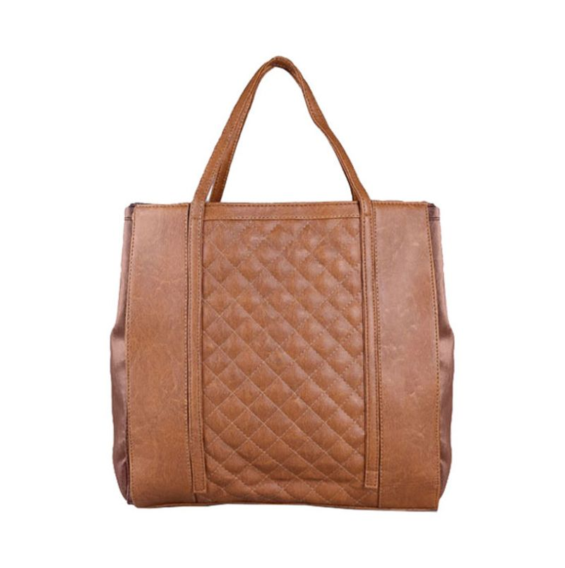 Bagtitude Carmen Light Brown Tas Tangan