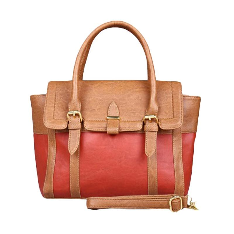Bagtitude Cattelya Light Brown Terracotta Tas Tangan