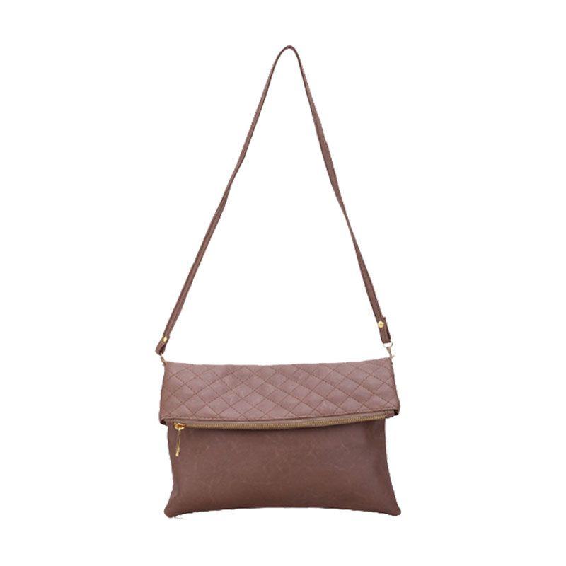Bagtitude Khloe Mocca Clutch Bag