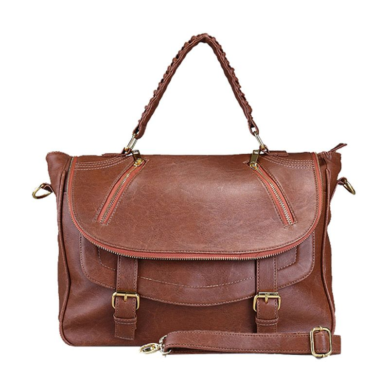 Bagtitude Michellia Top Brown Stone Tas Tangan