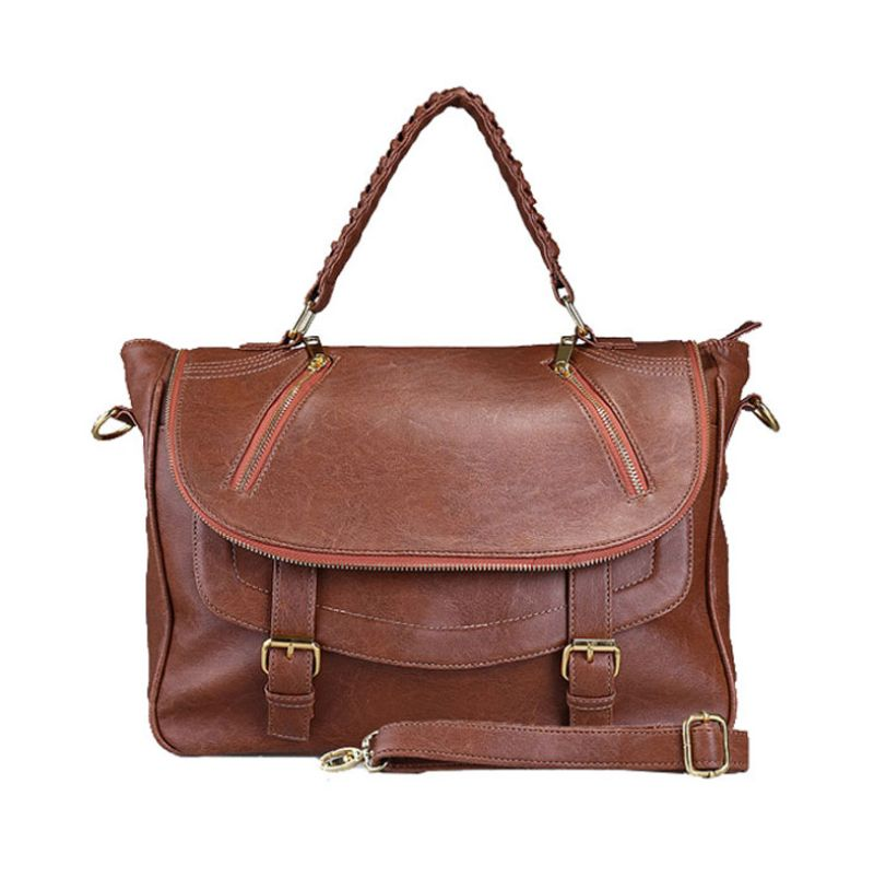 Bagtitude Michellia Top Dark Brown Tas Tangan