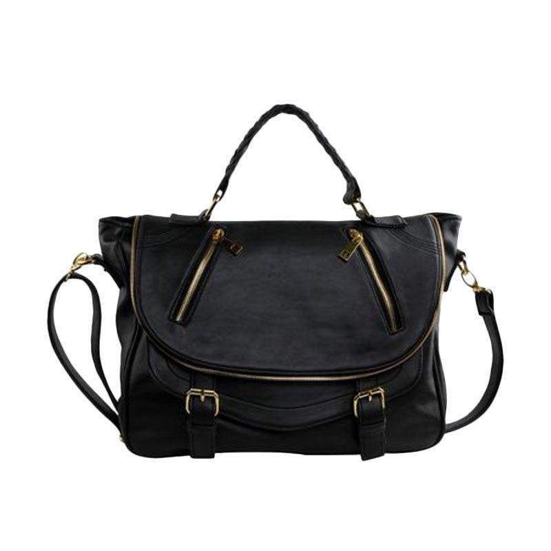 Bagtitude Michellia Top Handle Bag Black