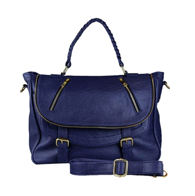 Bagtitude Michellia Top Navy Blue Tas Tangan