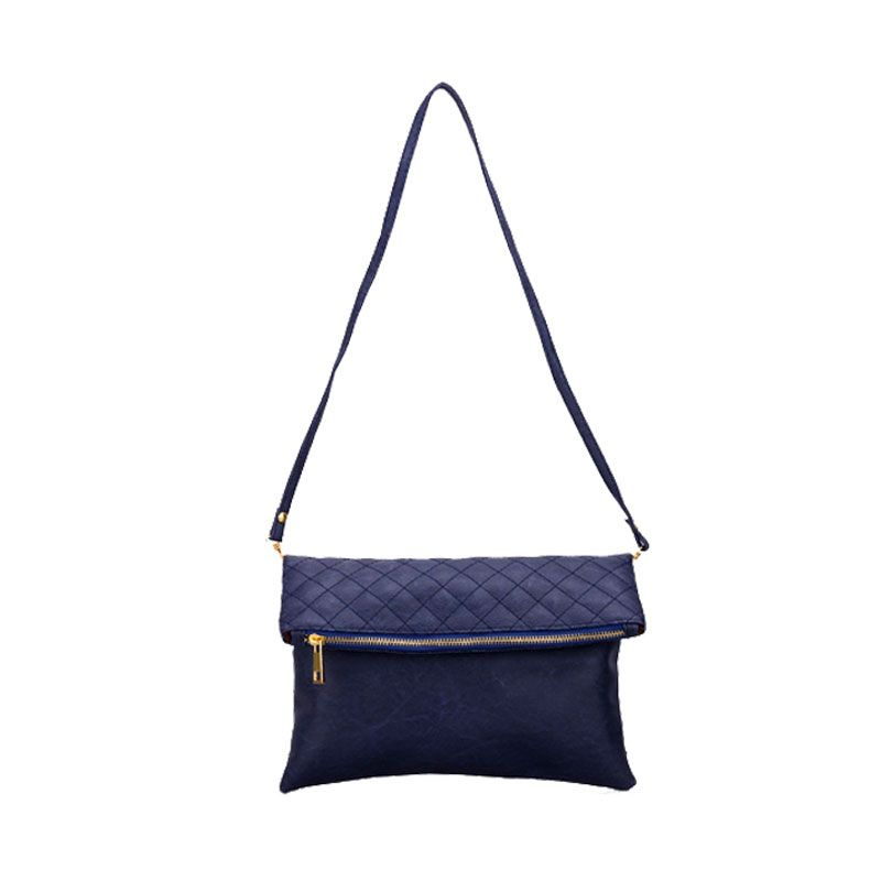 Bagtitude Khloe Navy Blue Clutch Bag