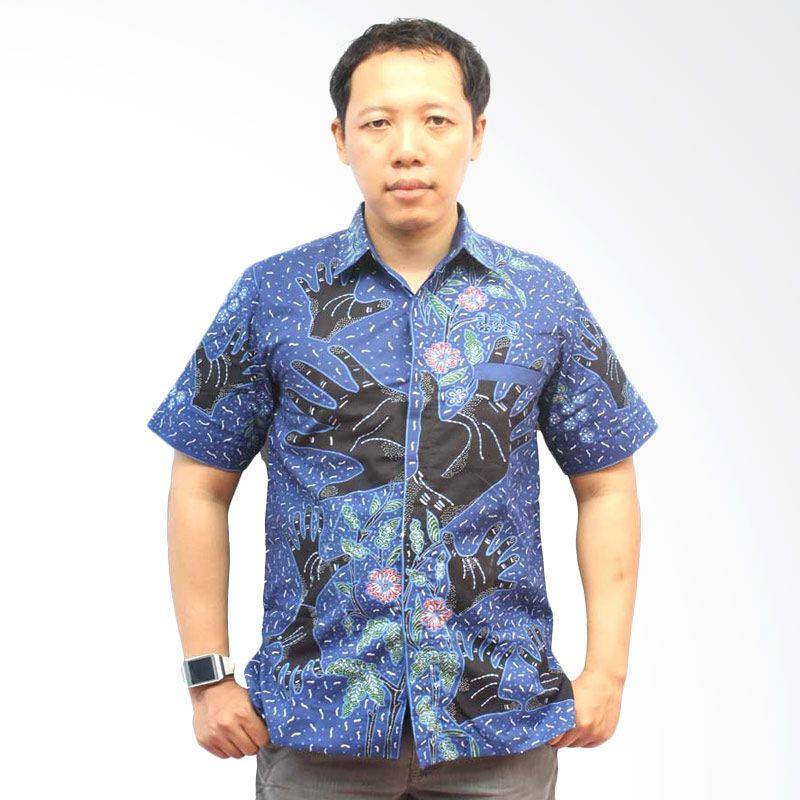 Clam be Q Hem HB774 Batik Pria