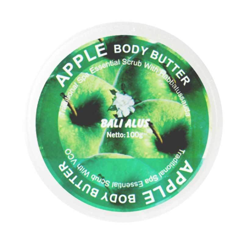 Bali Alus Body Butter Apple 100 gr (Set of 4)