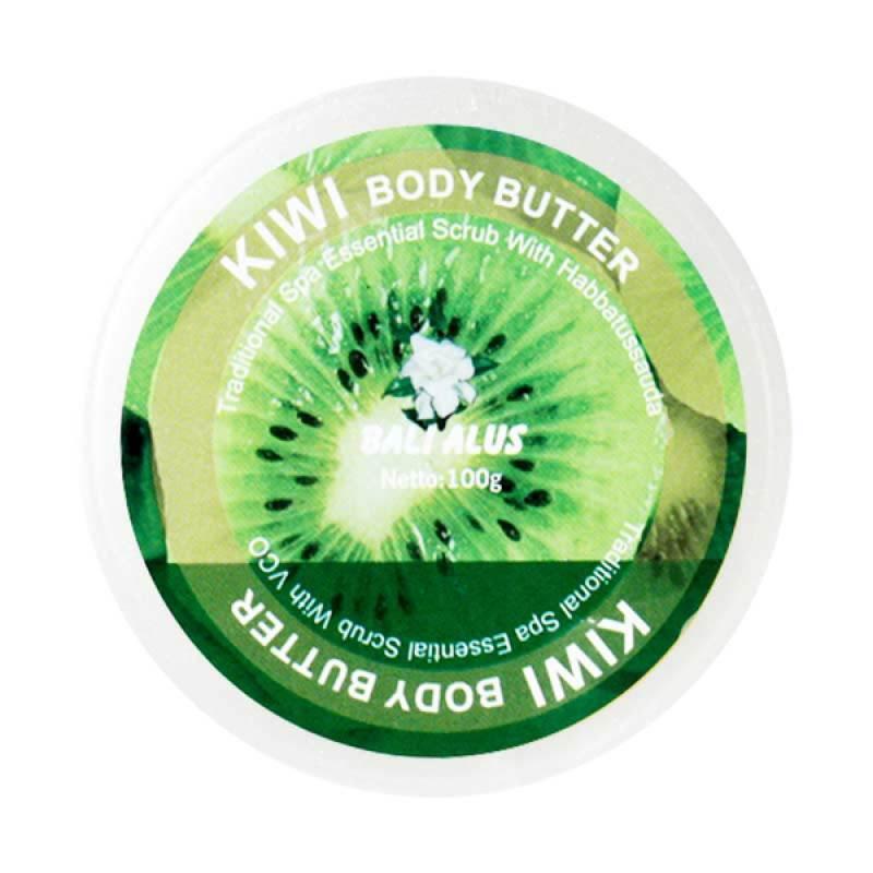 Bali Alus Body Butter Kiwi 100 gr (Set of 4)