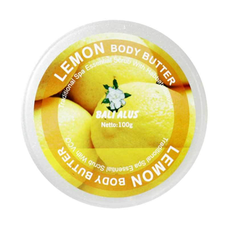 Bali Alus Body Butter Lemon 100 gr (Set of 4)