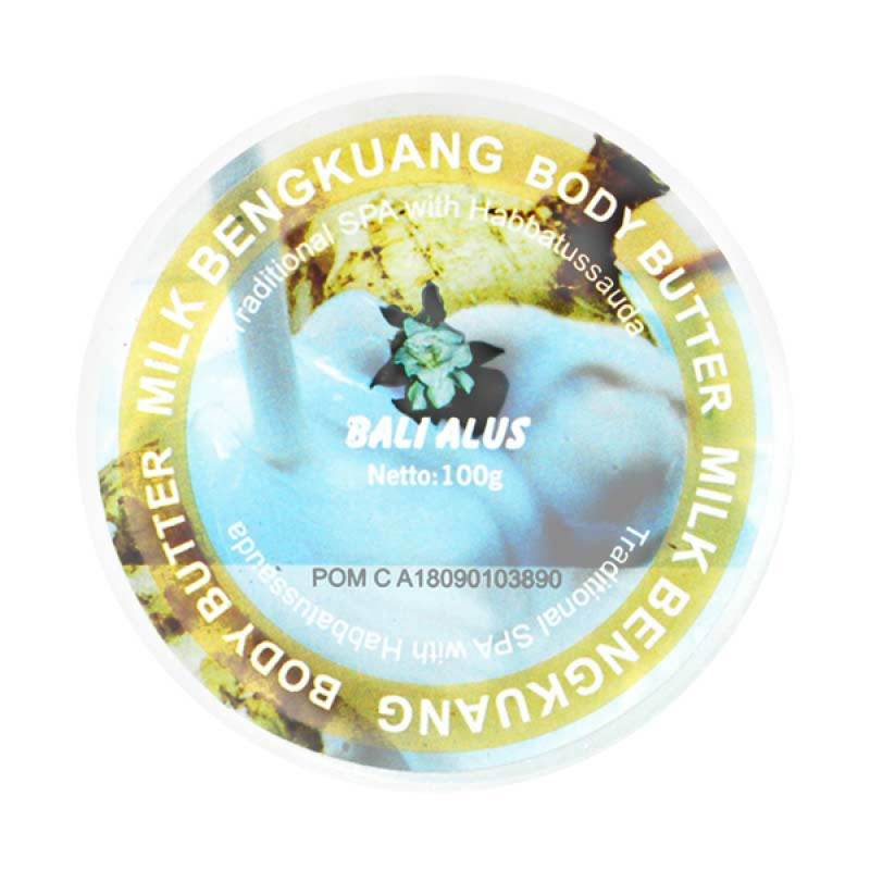 Bali Alus Body Butter Milk-Bengkuang 100 gr (Set of 4)