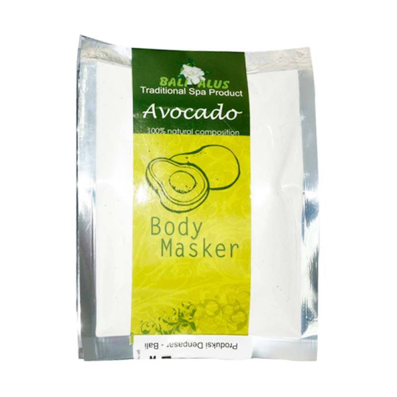 Bali Alus Body Masker Avocado 100 gr (Set of 2)