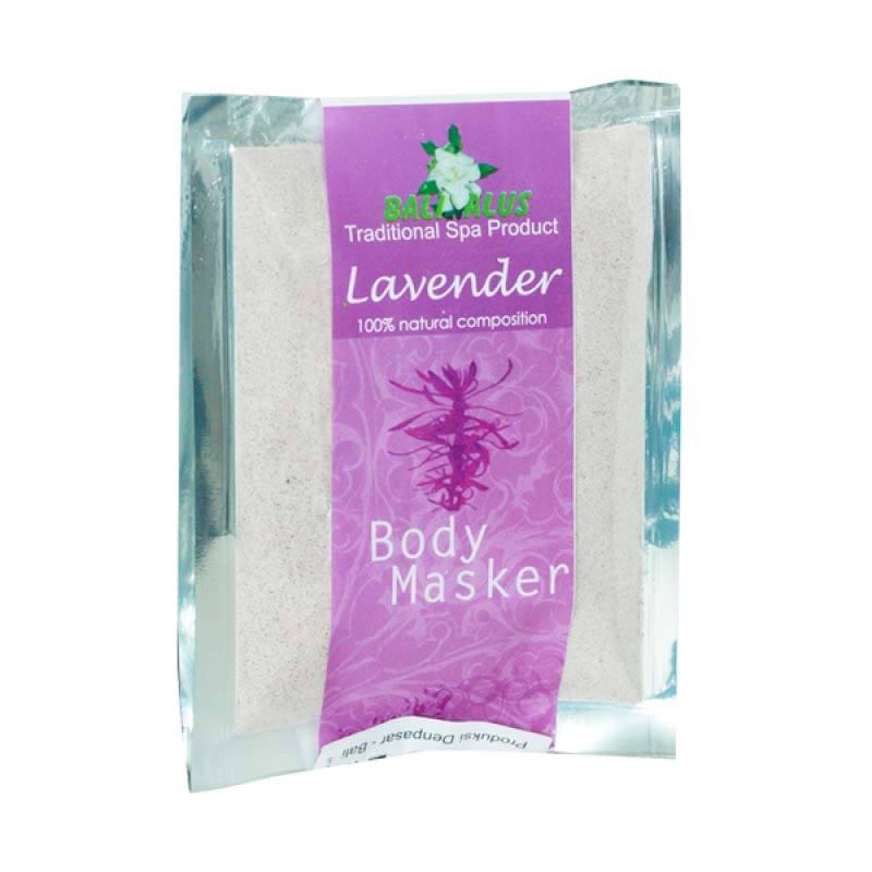 Bali Alus Body Masker Lavender 100 gr (Set of 2)