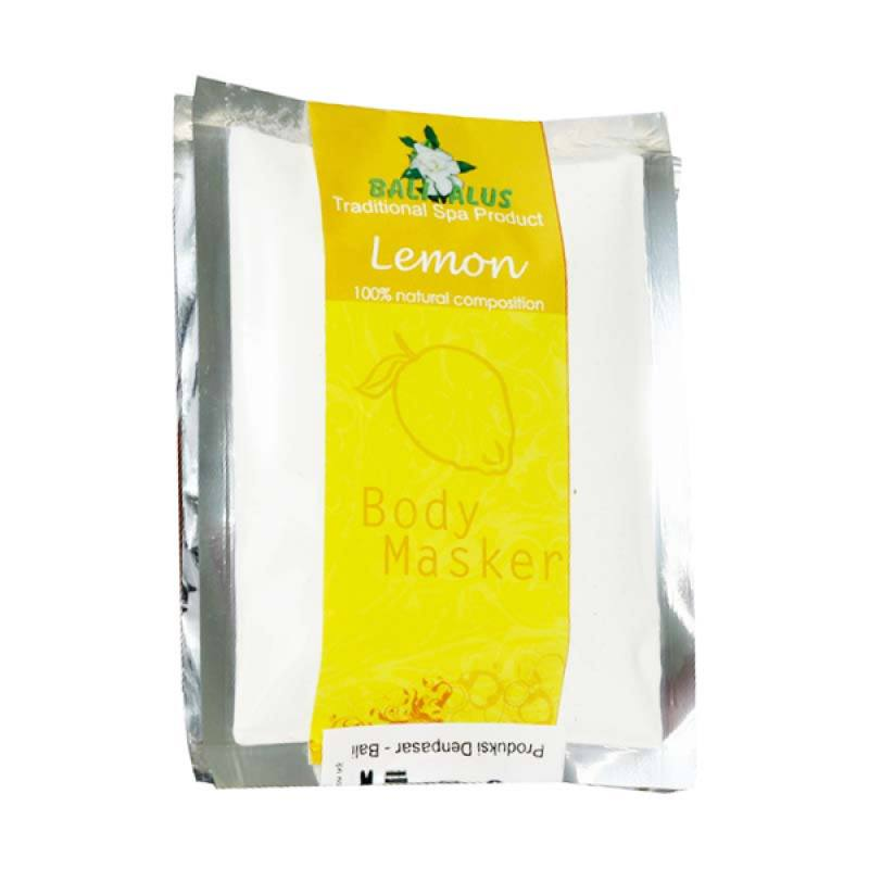 Bali Alus Body Masker Lemon 100 gr (Set of 2)