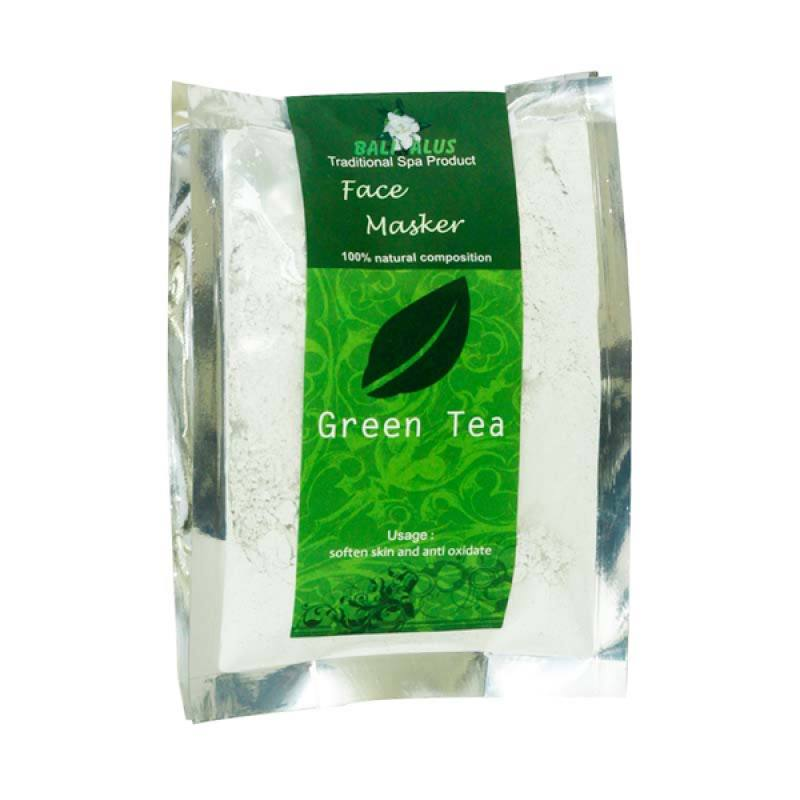 Bali Alus Face Masker Green Tea 100 gr (Set of 2)
