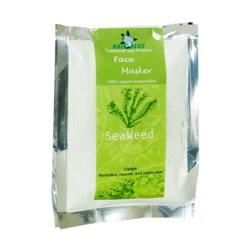Bali Alus Face Masker Seaweed 100 gr (Set of 2)