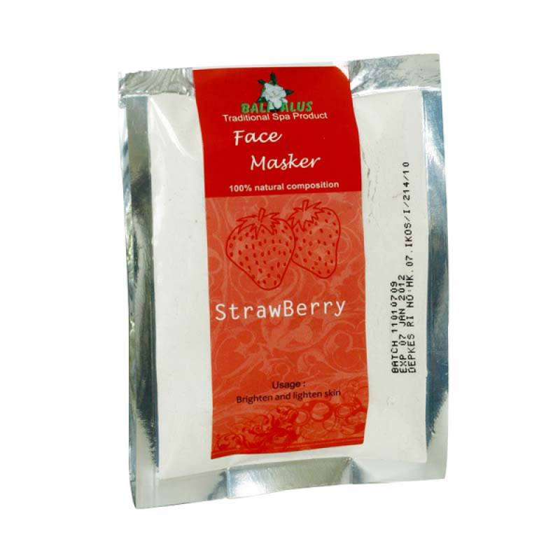 Bali Alus Face Masker Strawberry 100 gr (Set of 2)