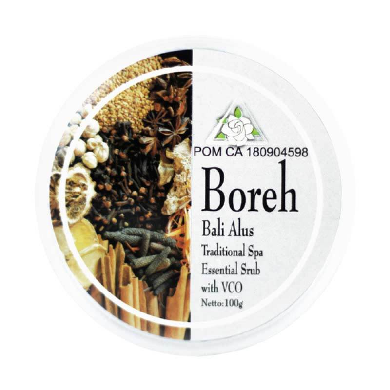 Bali Alus Lulur Cream Boreh 100 gr (Set of 5)