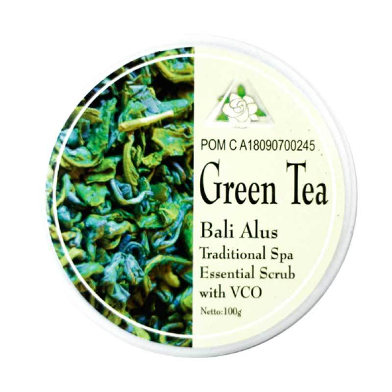 Bali Alus Lulur Cream Green Tea 100 gr (Set of 5)