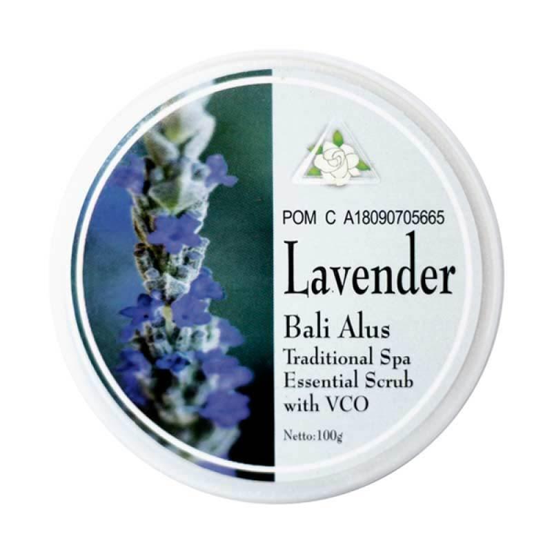Bali Alus Lulur Cream Lavender 100 gr (Set of 5)