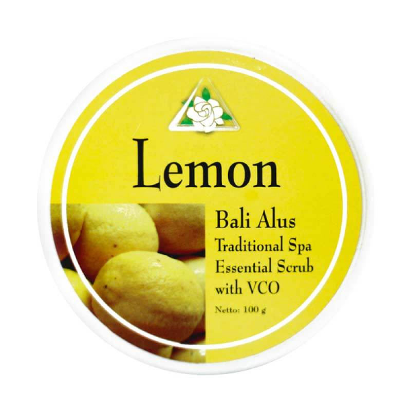 Bali Alus Lulur Cream Lemon 100 gr (Set of 5)