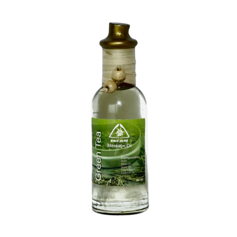 Bali Alus Massage Oil Green Tea 60 ml (Set of 5)