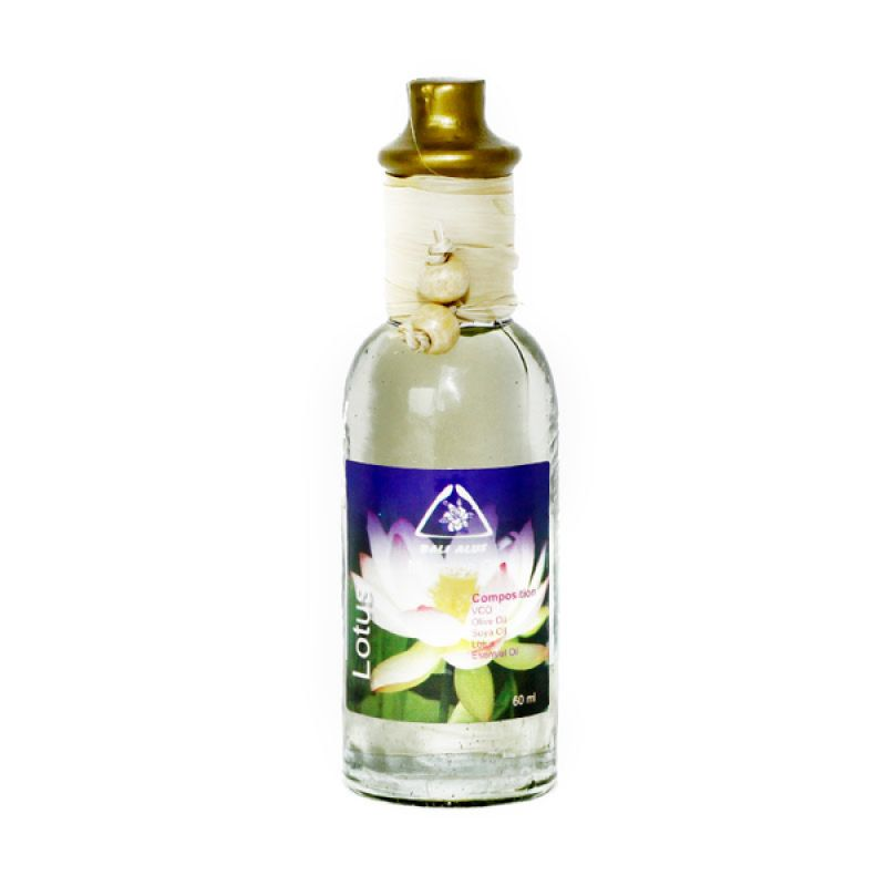 Bali Alus Massage Oil Lotus 60 ml (Set of 5)
