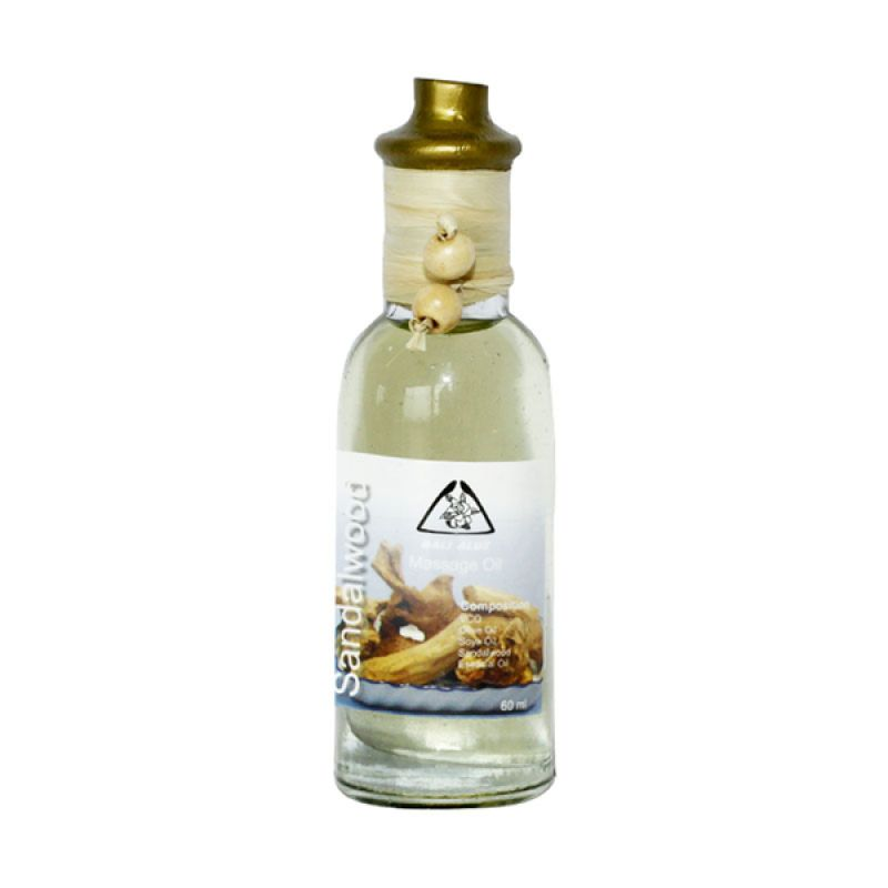 Bali Alus Massage Oil Sandalwood 60 ml (Set of 5)