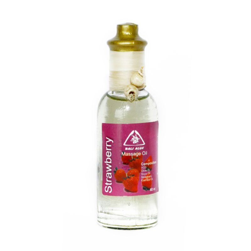 Bali Alus Massage Oil Strawberry 60 ml (Set of 5)